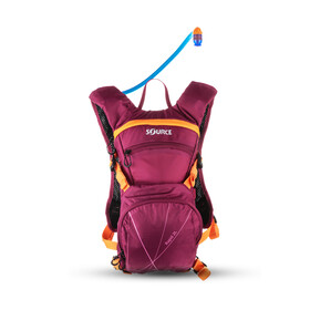 SOURCE Rapid - Mochila bicicleta - 2l rosa